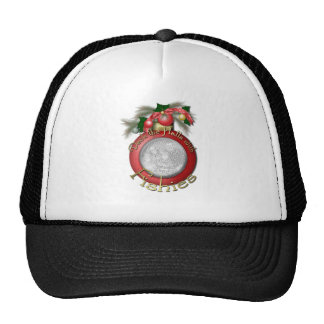 Christmas - Deck the Halls with Fishies Hat