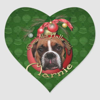 Christmas - Deck the Halls with Marnie Heart Stickers