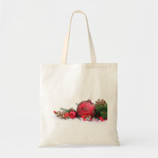 CHRISTMAS DECOR AND HOLIDAY TOTE