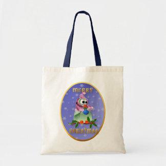 Christmas Decoration Bird Oval Bags
