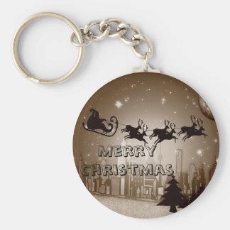 Christmas decoration key ring