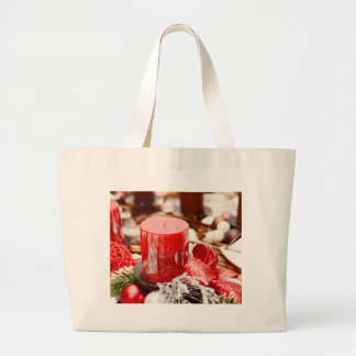 Christmas decoration large tote bag