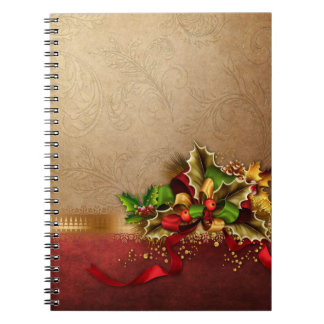 Christmas Decoration Notebook