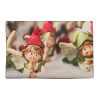 Christmas decoration of a little angel travel accessories bags