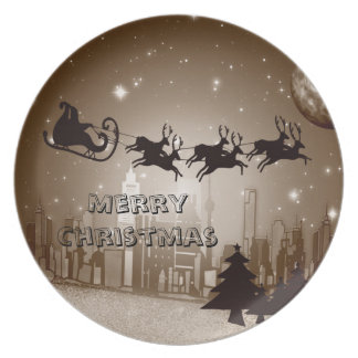 Christmas decoration plate