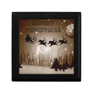 Christmas decoration small square gift box