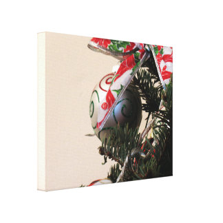 Christmas Decorations 1 Stretched Canvas Print