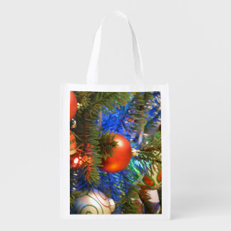 Christmas Decorations 9 Reusable Grocery Bags