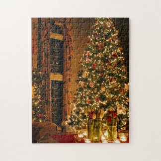 Christmas decorations - christmas tree jigsaw puzzle