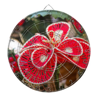 Christmas decorations dartboard