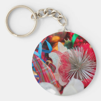 Christmas decorations key ring