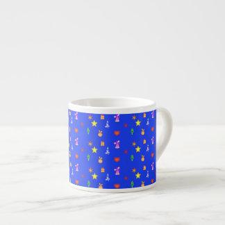 Christmas Decorations Pattern espresso mug 6 Oz Ceramic Espresso Cup