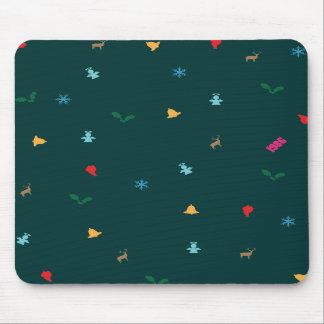 Christmas Decorations Pattern Mousepad