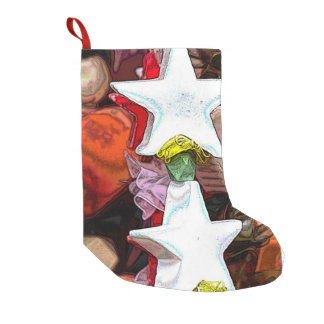 Christmas decorations small christmas stocking