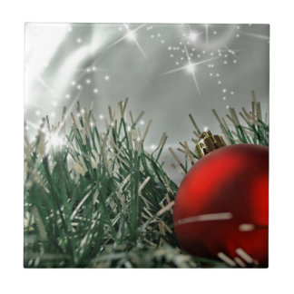 Christmas decorations small square tile