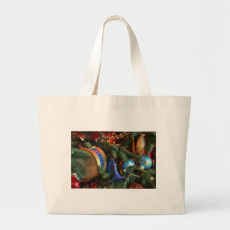 christmas decorations jumbo tote bag