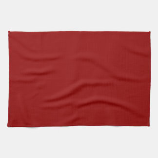 Christmas Deep Burgundy Red Color Background Blank Kitchen Towel