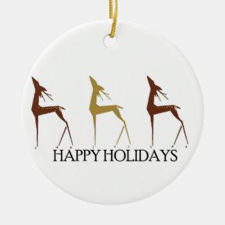 Christmas Deer Christmas Ornament