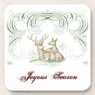 Christmas Deer Coaster