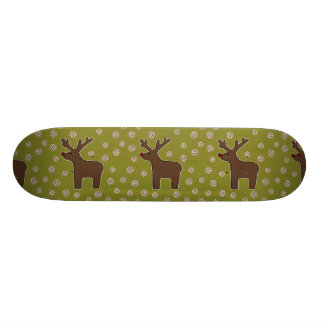 Christmas deer! green skateboards