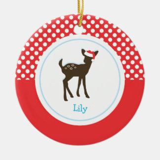 Christmas Deer | Holiday Ornaments