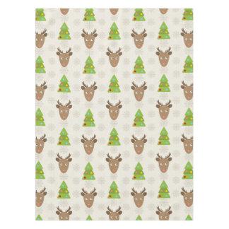 Christmas Deer Tablecloth