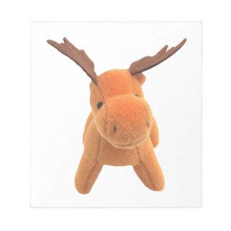 Christmas Deer transparent PNG Notepad