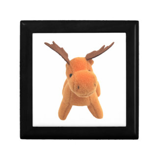 Christmas Deer transparent PNG Small Square Gift Box