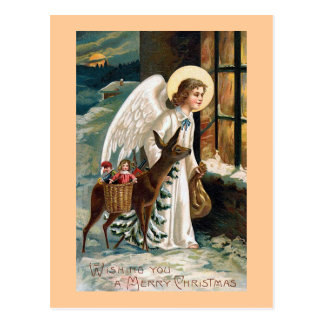 """Christmas Delivery"" Postcard"
