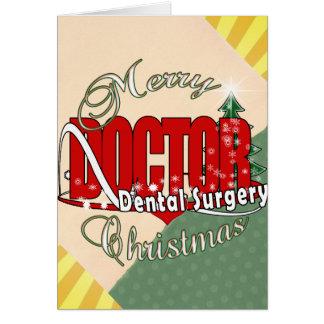 CHRISTMAS Dental Surgery Card