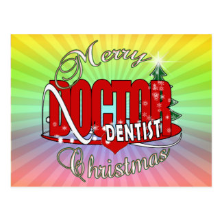 CHRISTMAS DENTIST POST CARDS
