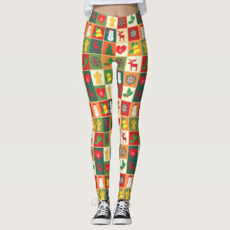 Christmas Design Illustrated Women's Leggings