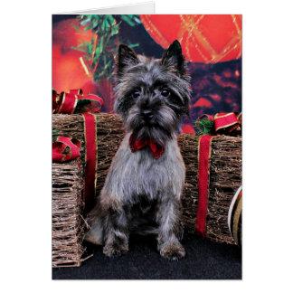 Christmas - Dexter - Cairn Card