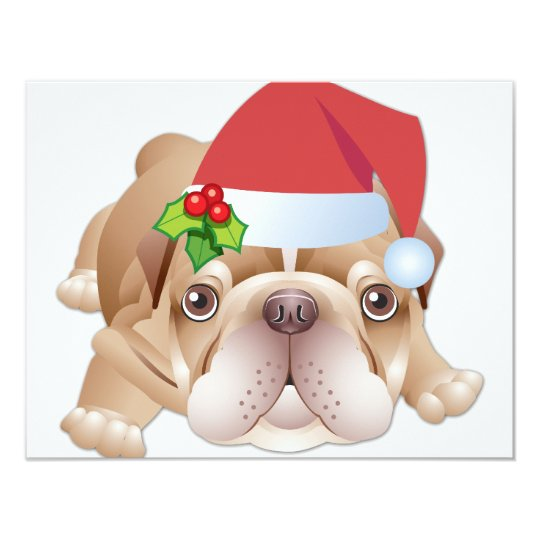 Christmas Dog Gift Invitation