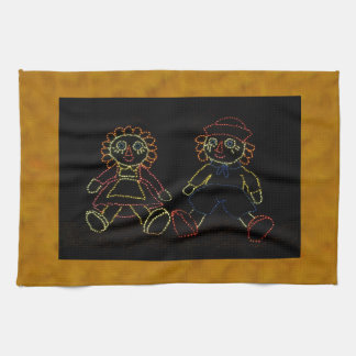 Christmas Dolls (Jack and Jill) ZZ 2016 Towels