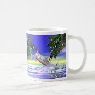 Christmas Dolphin Coffee Mug
