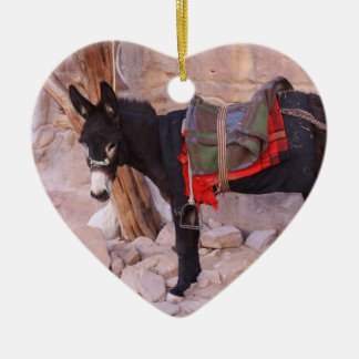 Christmas Donkey Christmas Ornament