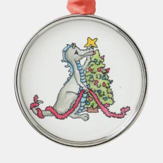 Christmas Dragon Ornament