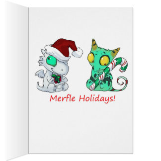 Christmas Dragons Cards