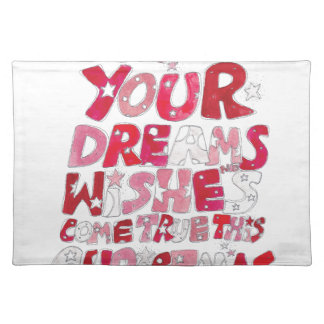 Christmas Dreams and Wishes Placemat
