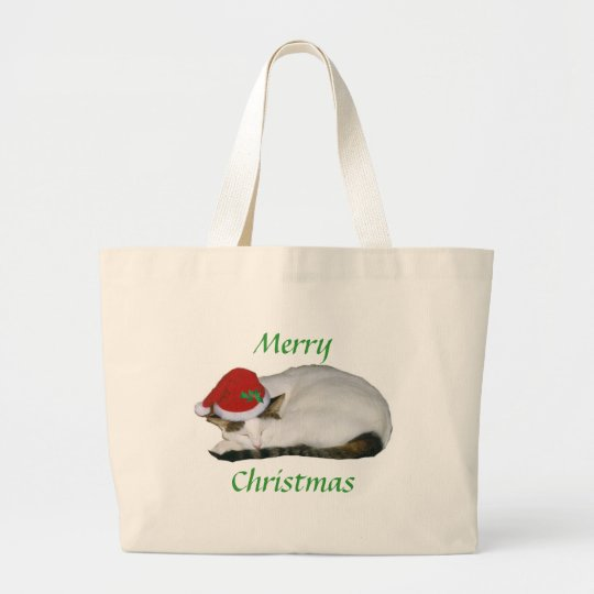 Christmas Dreams Cat Nap Bag
