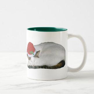 Christmas Dreams Cat Nap Mug