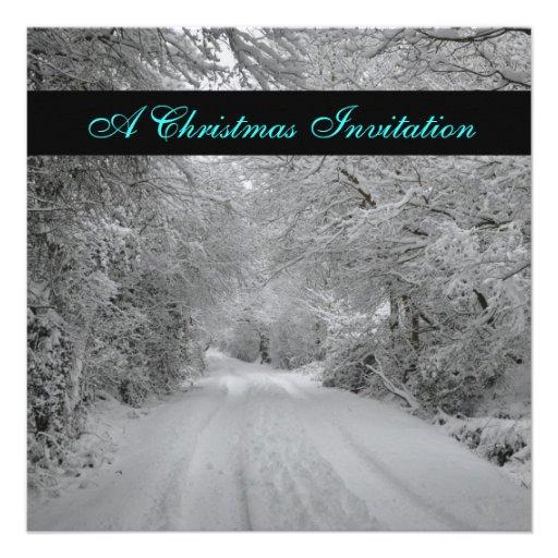 Christmas Drinks invitation