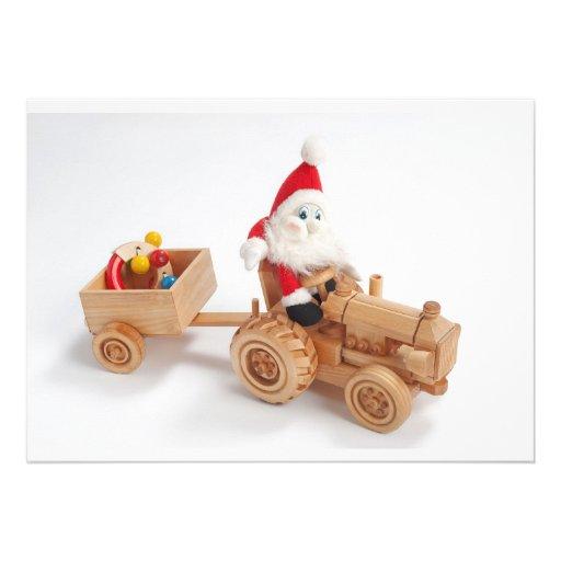 Christmas driver invites