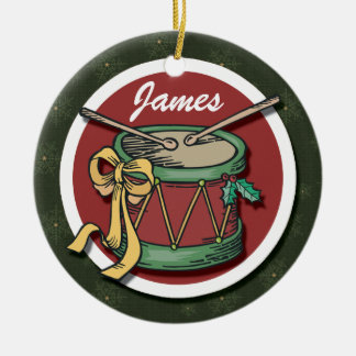 Christmas Drum Ornament
