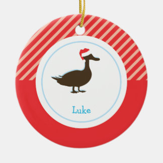 Christmas Duck | Holiday Ornaments
