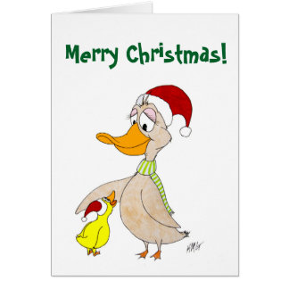 Christmas: Ducks Card