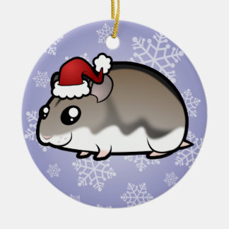 Christmas Dwarf Hamster Christmas Ornament