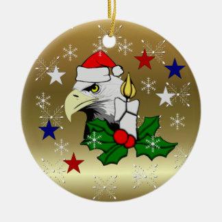 Christmas Eagle Christmas Ornament