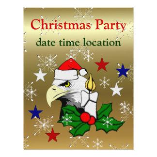 Christmas Eagle Custom Flyer